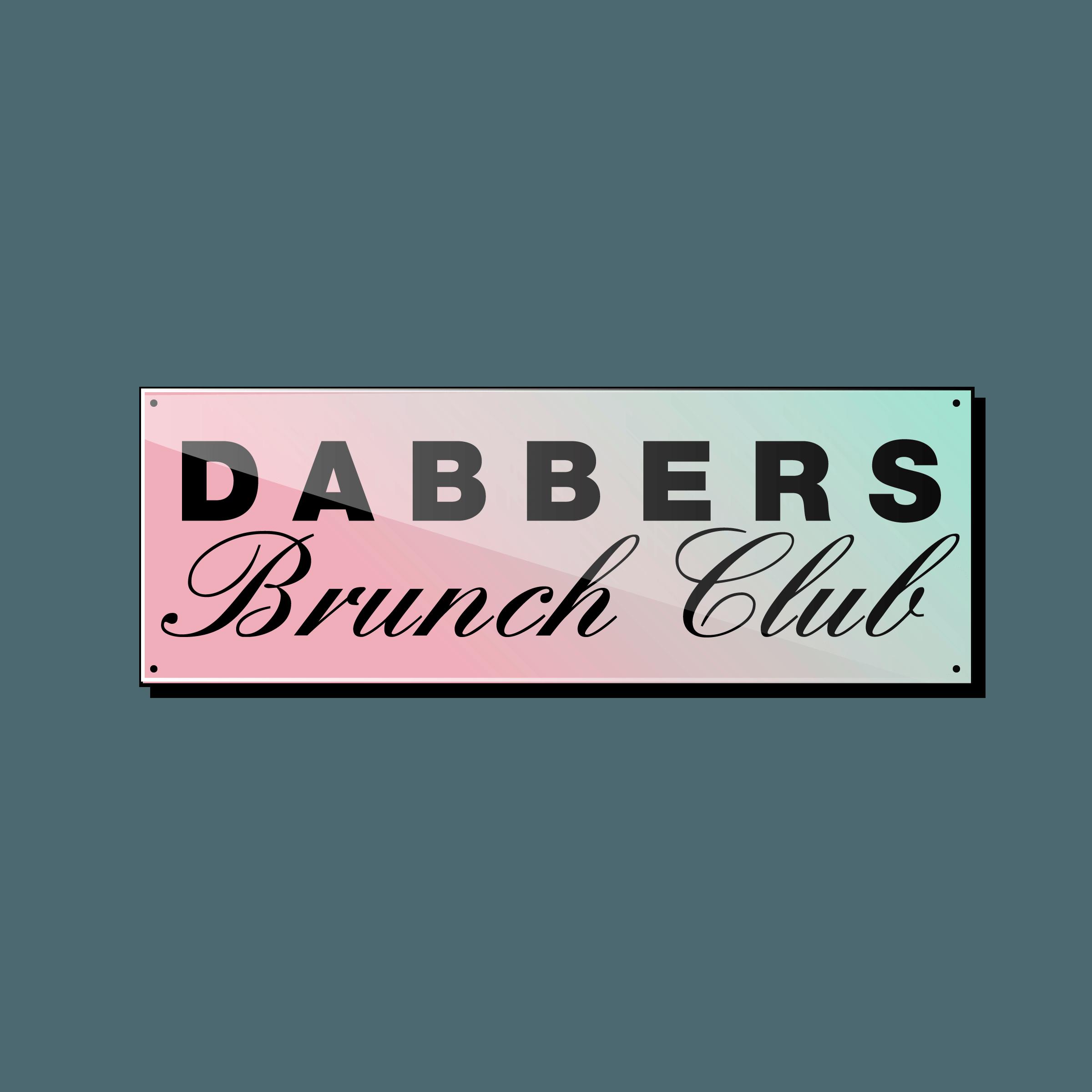 Dabbers Brunch Club Logo
