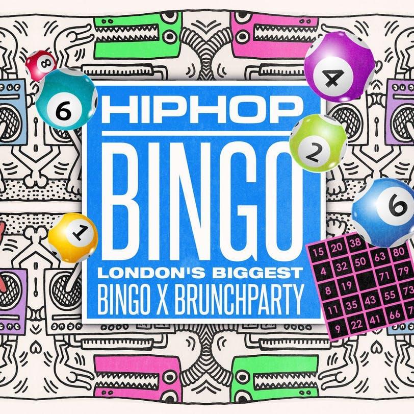 Hip Hop Bingo Brunch Logo